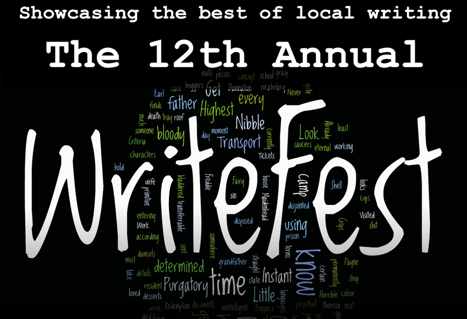 12th WriteFest banner